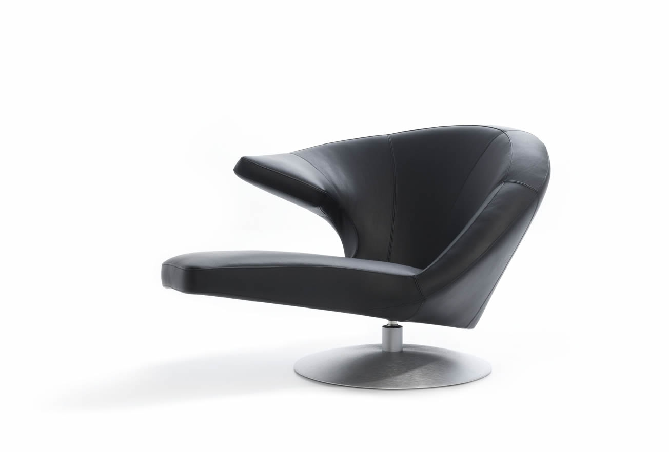 Parabolica Swivel Armchair | Armchairs | IQ Furniture