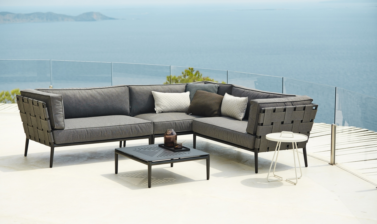 conic outdoor modular sofa outdoor furniture iq furniture. Black Bedroom Furniture Sets. Home Design Ideas