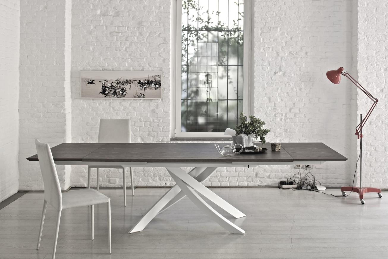 Artistico Concrete Extendable Dining Table Dining Tables IQ - Extendable concrete dining table