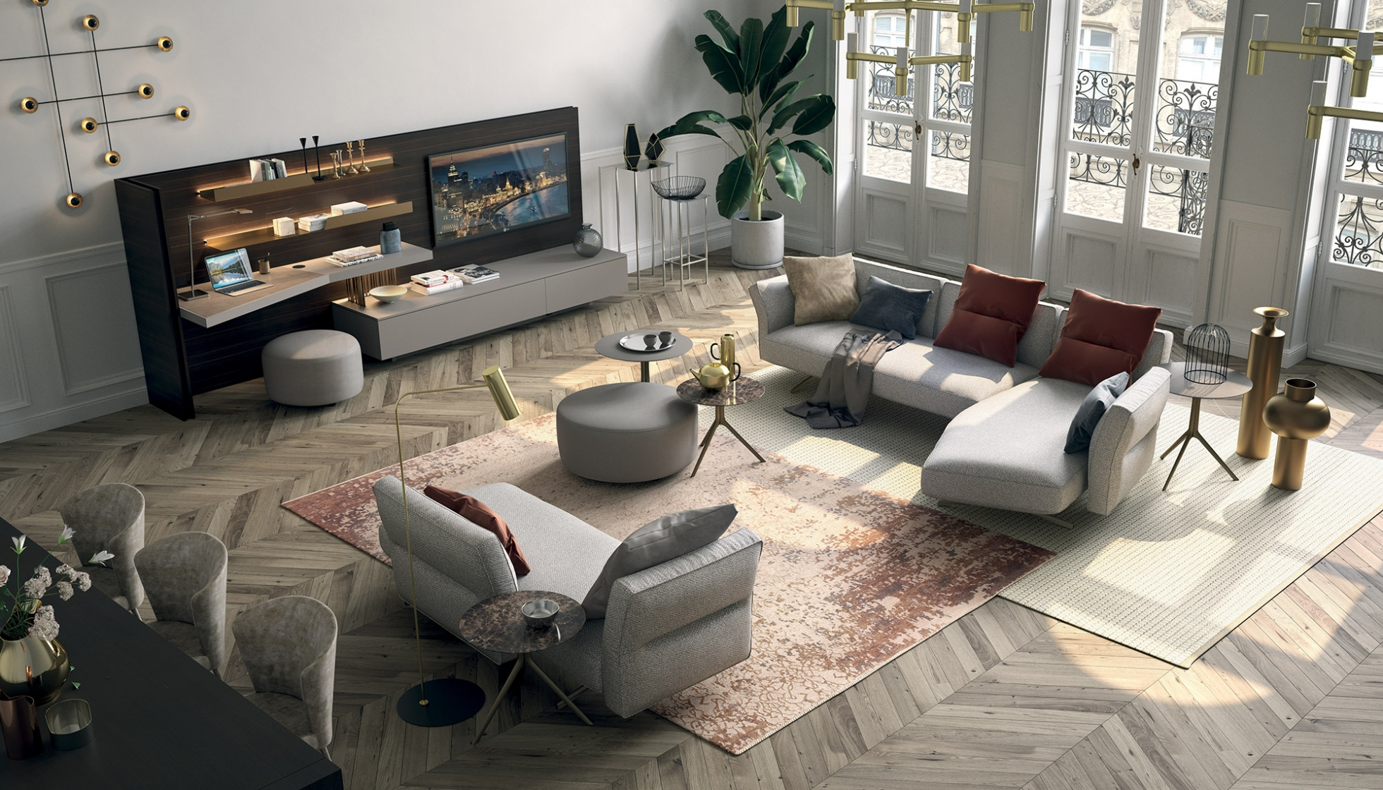 The largest contemporary furniture display in buckinghamshire